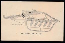 GENT  LE PORT DE GAND - Gent