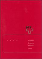 PTT-Jahrbuch Schweiz 1990, Alle Marken Mit Ersttagsstempel - Svizzera