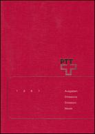 PTT-Jahrbuch Schweiz 1987, Alle Marken Mit Ersttagsstempel - Svizzera