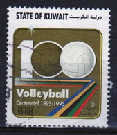 Kuwait 1995 Single Used 50 Fils Stamp From The Centenary Of Volleyball Set. - Kuwait