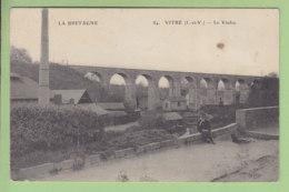 VITRE : Le Viaduc. Au Dos, Tampon 106e Régiment D'Infanterie. 1914. 2 Scans. Edition ELD - Vitre