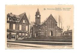 Mont-à-Leux. Mouscron Eglise St.-Antoine. Moeskroen St.-Antoniuskerke. - Mouscron - Moeskroen
