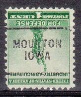 USA Precancel Vorausentwertung Preo, Locals Iowa, Moulton 703 - Vereinigte Staaten