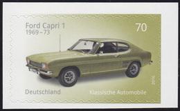 3214 Klassische Deutsche Automobile: Ford Capri 1, Selbstklebend, ** - [7] Federal Republic