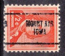 USA Precancel Vorausentwertung Preo, Locals Iowa, Mount Ayr 704 - Vereinigte Staaten