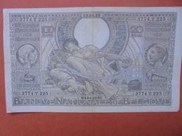 BELGIQUE 100 FRANCS 8-4-38 CIRCULER (B.4) - [ 2] 1831-... : Royaume De Belgique