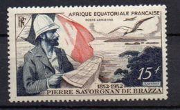A E F (  AERIEN  ) : Y&T  N°  55  TIMBRE  NEUF  SANS  TRACE  DE  CHARNIERE . - A.E.F. (1936-1958)