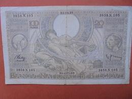 BELGIQUE 100 FRANCS 23-4-38 CIRCULER (B.4) - [ 2] 1831-... : Belgian Kingdom