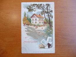 CPA - Chocolat Suchard- Exposition Universelle De Paris 1900 - Maision Ouvrière Exposée à Vincennes - Publicité