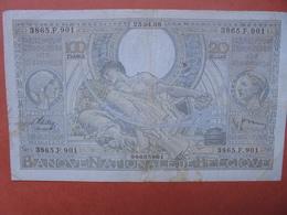 BELGIQUE 100 FRANCS 25-4-38 CIRCULER (B.4) - [ 2] 1831-... : Belgian Kingdom
