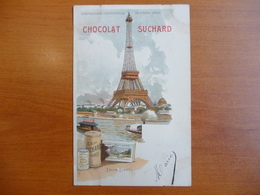 CPA - Chocolat Suchard - Exposition Universelle De Paris 1900 - Tour Eiffel - Werbepostkarten