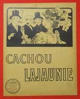 Publicité Cachou Lajaunie Belles Illustrations 1909-1910 Liasse Tirée Du Guide Album Chemins De Fer Du Midi - Advertising