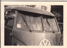 BUS PULLMAN VOLKSWAGEN T2 - FOTO ORIGINALE 1966 - Automobiles