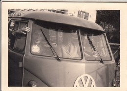 BUS PULLMAN VOLKSWAGEN T2 - FOTO ORIGINALE 1966 - Automobili