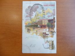 CPA - Cacao Suchard- Exposition Universelle De Paris 1900 - Avenue De Suffren (La Grande Roue) - Publicité