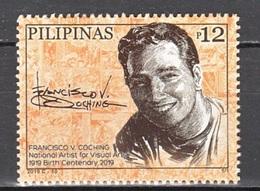 Filippine Philippines Philippinen Pilipinas 2019 F. V. Coching Birth Centenary National Artist For Visual Arts,set MNH** - Filippine
