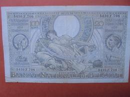 BELGIQUE 100 FRANCS 20-12-38 CIRCULER (B.4) - [ 2] 1831-... : Belgian Kingdom