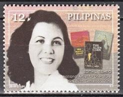 Filippine Philippines Philippinen Pilipinas 2019 Edith L. Tiempo, Birth Centenary National Artist For Literature - MNH** - Filippine