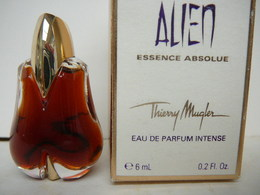 "MUGLER:"" ALIEN"" :ESSENCE ABSOLUE "" MINI EDP INTENSE  6 ML LIRE ET VOIR!! - Miniaturen Flesjes Dame (met Doos)"