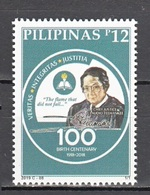Filippine Philippines Philippinen Pilipinas 2019 Chief Justice Claudio Teehankee, Birth Centenary, Set - MNH** - Filippine