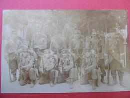 BRUYERES  ( 88 ) CARTE PHOTO De La 1er Compagnie Du 44e BATAILLON - Bruyeres