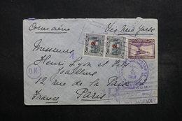 SALVADOR - Enveloppe En Recommandé Pour Paris En 1934 Via New York , Affranchissement Plaisant - L 32542 - El Salvador