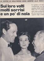 (pagine-pages)AUDREY HEPBURN E MEL FERRER  Settimanaincom1958/45. - Autres