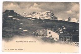 CH-5509   RIFFELBERG Et Le BREITHORN - VS Valais