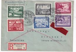 ALLEMAGNE 1941  LETTRE RECOMMANDEE DE MÜNCHEN-RIEM  EN EXPRES - Storia Postale