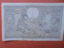BELGIQUE 100 FRANCS 7-3-39 CIRCULER (B.4) - [ 2] 1831-... : Belgian Kingdom