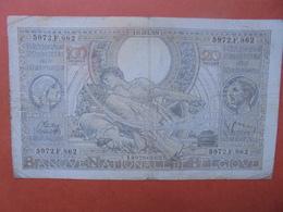BELGIQUE 100 FRANCS 10-3-39 CIRCULER (B.4) - [ 2] 1831-... : Belgian Kingdom