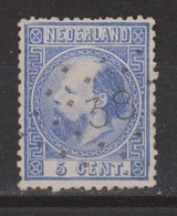 NVPH Nederland Netherlands Pays Bas Niederlande Holanda 7 CANCEL GEERTRUIDENBERG 38 Koning Roy Rey King Willem III 1867 - Period 1852-1890 (Willem III)
