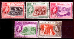 Dominica-015 - Emissione 1954 - Senza Difetti Occulti. - Dominica (...-1978)