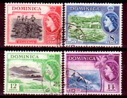 Dominica-016 - Emissione 1954 - Senza Difetti Occulti. - Dominica (...-1978)