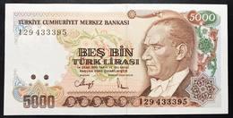 Turchia 5000 Turk Lirasi 1970 (1990) Q.FDS About UNC Pick 198   LOTTO 2573 - Turkey