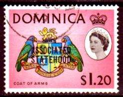 Dominica-017 - Emissione 1968 - Senza Difetti Occulti. - Dominica (...-1978)
