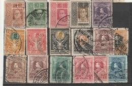 SIAM - Lot 30 Timbres 1906/15 - Siam