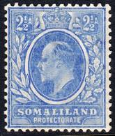 Somaliland Prot. 1905 2 1/2 A. SG48 - Mint Previously Hinged - Somalilandia (Protectorado ...-1959)