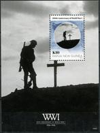 Papua New Guinea. 2014. 100th Anniversary Of Start Of World War I (MNH OG) S/S - Papua New Guinea