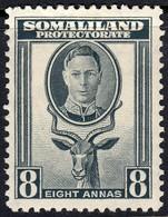 Somaliland Prot. 1938 8 A. SG99 - Mint Previously Hinged - Somalilandia (Protectorado ...-1959)