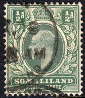 Somaliland Prot. 1905 1/2 A. SG45 - Used - Somalilandia (Protectorado ...-1959)