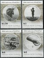 Papua New Guinea. 2014. 100th Anniversary Of Start Of World War I (MNH OG) Set - Papua New Guinea