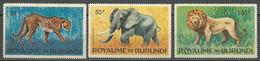 Burundi,Fauna-Wild Animals 1964.,MNH - Burundi