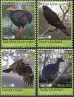Papua New Guinea 2018. Rare Birds (MNH OG) Set Of 4 Stamps - Papoea-Nieuw-Guinea