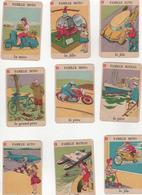 Cartes Anciennes à Jour 7 Familles - Cartes à Jouer Classiques