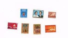 Mariage Princier,Olympiques,Syndicats,Peintures,Sécurité Routière.MNH,Neuf Sans Charnière.Yvert 759,770/1,776/7,PA 8,986 - Luxembourg