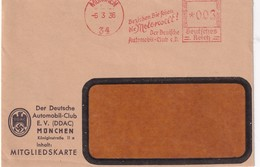 ALLEMAGNE 1936 EMA DE MÜNCHEN - Deutschland