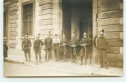Carte-Photo - Régiment - FONTAINEBLEAU - Dragons - Regiments