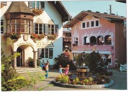 St. Gilgen Am Wolfgangsee: Rathaus , Konditorei Café 'Dallmann'  - ( Austria) - St. Gilgen