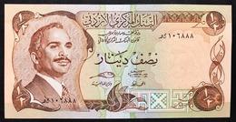 Jordan 1/2 Half Dinar 1975-1992 UNC P 17 UNC  Fds  LOTTO 2580 - Jordanien